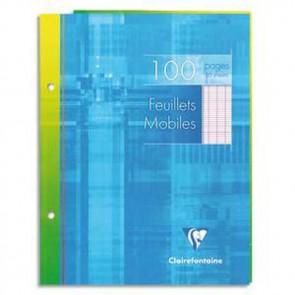 100 FEUILLES MOBILES 17X22