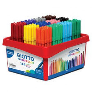 Giotto pack de 144 feutres pointe moyenne (Default)