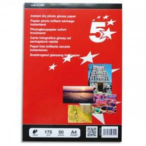 Boîte de 50 feuilles A4 papier photo brillant 175g