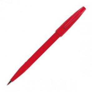 PENTEL Stylo feutre pointe en nylon largeur de trait 0,8 mm encre rouge SIGN PEN S520 173382