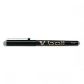 PILOT Stylo roller pointe métal 1,0 mm encre liquide noire V-BALL 1,0
