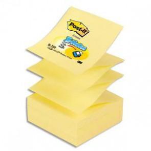 POST-IT Recharge Z-notes 100 feuilles 7,6 x 7,6 cm jaune   173625