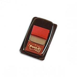 POST-IT Set de 50 marque-pages souples, coloris rouge