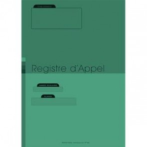 Registre cahier appel Fuzeau 722420