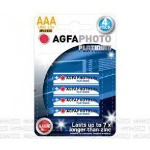 4 piles AGFA AAA