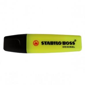 Surligneur Stabilo Boss jaune Original