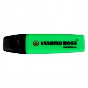 Surlligneur Stabilo Boss vert surligneurs