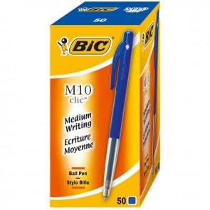 BIC M 10 BLEU par 50