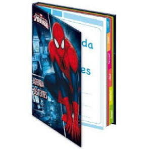 Agenda de texte Spiderman 16x22cm