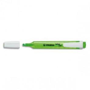 Surligneur de poche pointe biseautée vert SWING COOL