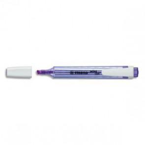 Surligneur de poche pointe biseautée violet SWING COOL