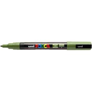Marqueur POSCA PC3M 1.5 mm vert kaki