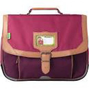 Cartable T'anns CLASSIC 38 cm violet/rose