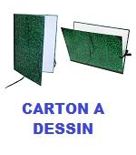 CARTON A DESSIN