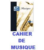 CQHIER DE MUSIQUE