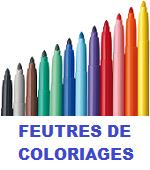 FEUTRES DE COLORIAGES