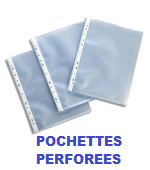 POCHETTES PERFOREES