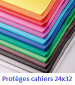 protege cahier 24x32