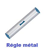 règles métal