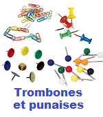 trombones et punaises